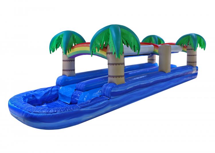 Tropical Dual Slide N Splash