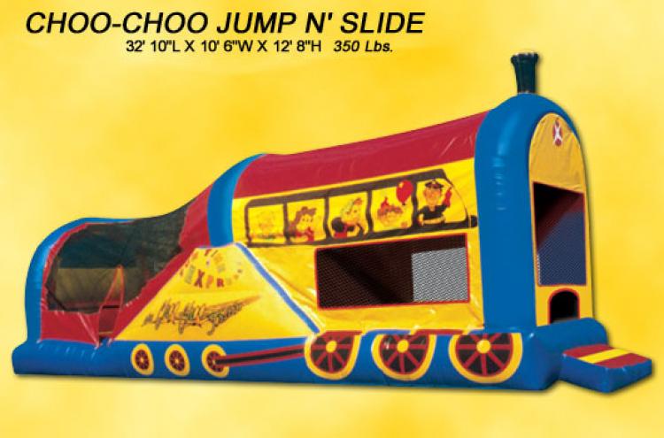 Disney Jump N' Slide Train
