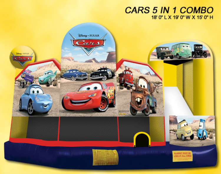 Cars 5 in 1 Combo