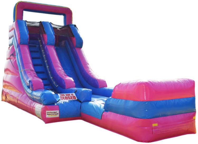 Pink Slushie Water Slide